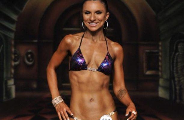 Sarah, 2012 NPC Bikini Competition